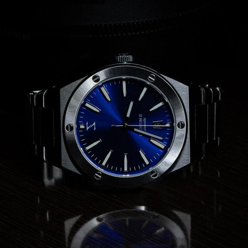 Phantom II Blue Sunburst Dark